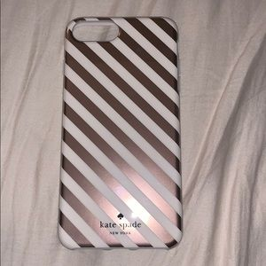 Kate Spade iPhone 6+ New Rose Gold Case
